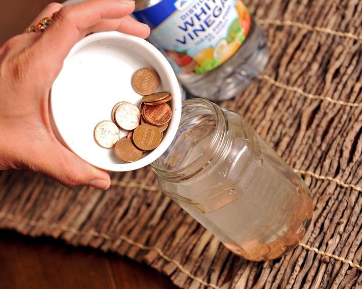 отмыть монеты