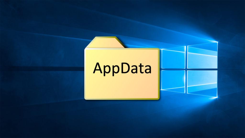 appdata в windows