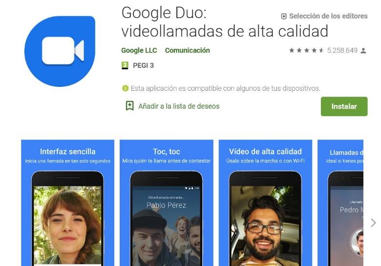 Google Duo 3